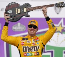 Kyle Busch races to 100th Xfinity win in return to Nashville