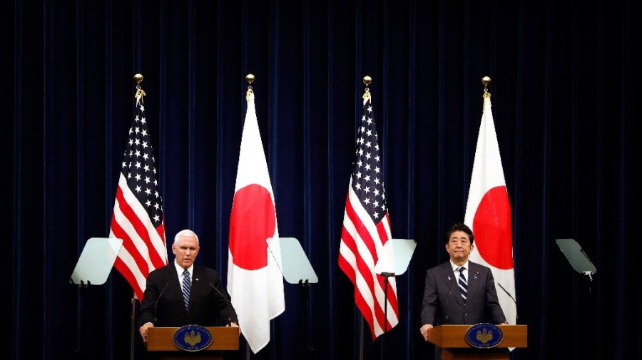 Pence pushes for a better U.S. trade deal with Japan