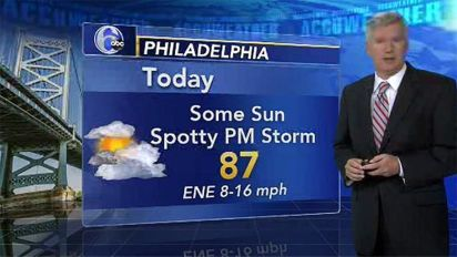AccuWeather: Morning flooding, spotty storms later