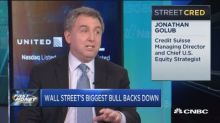 Why Wall Street's biggest bull backed off his mega rally ...