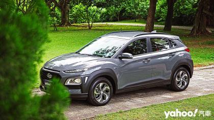 【新車圖輯】跨界節能新品種!2020 Hyundai Kona Hybrid台北淡水往返試駕