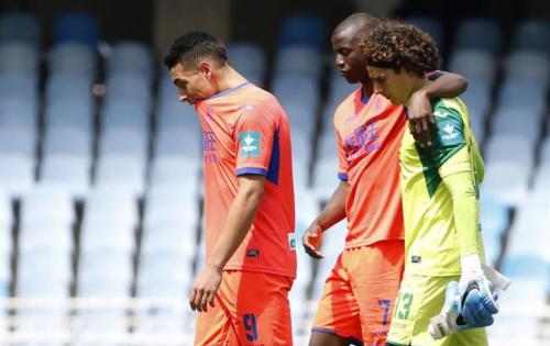 Ochoa y el Granada firmaron el descenso tras caer con la Real Sociedad. Foto: EFE
