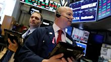 Stocks end lower amid mixed corporate earnings