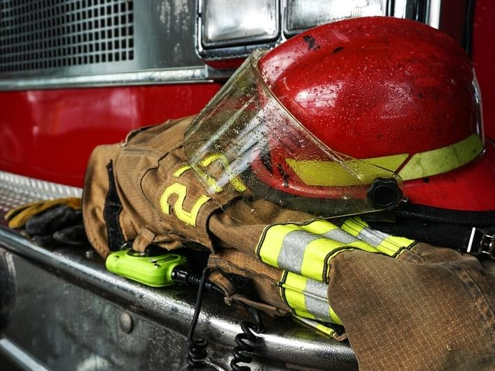 A Benicia Fire Department firefighter who tested positive for the coronavirus is self-quarantined at home, city officials said Tuesday.