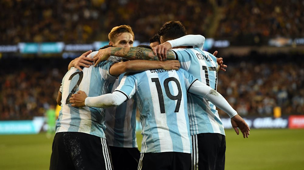 La agenda de Argentina en 2017: ¿qué partidos jugará?