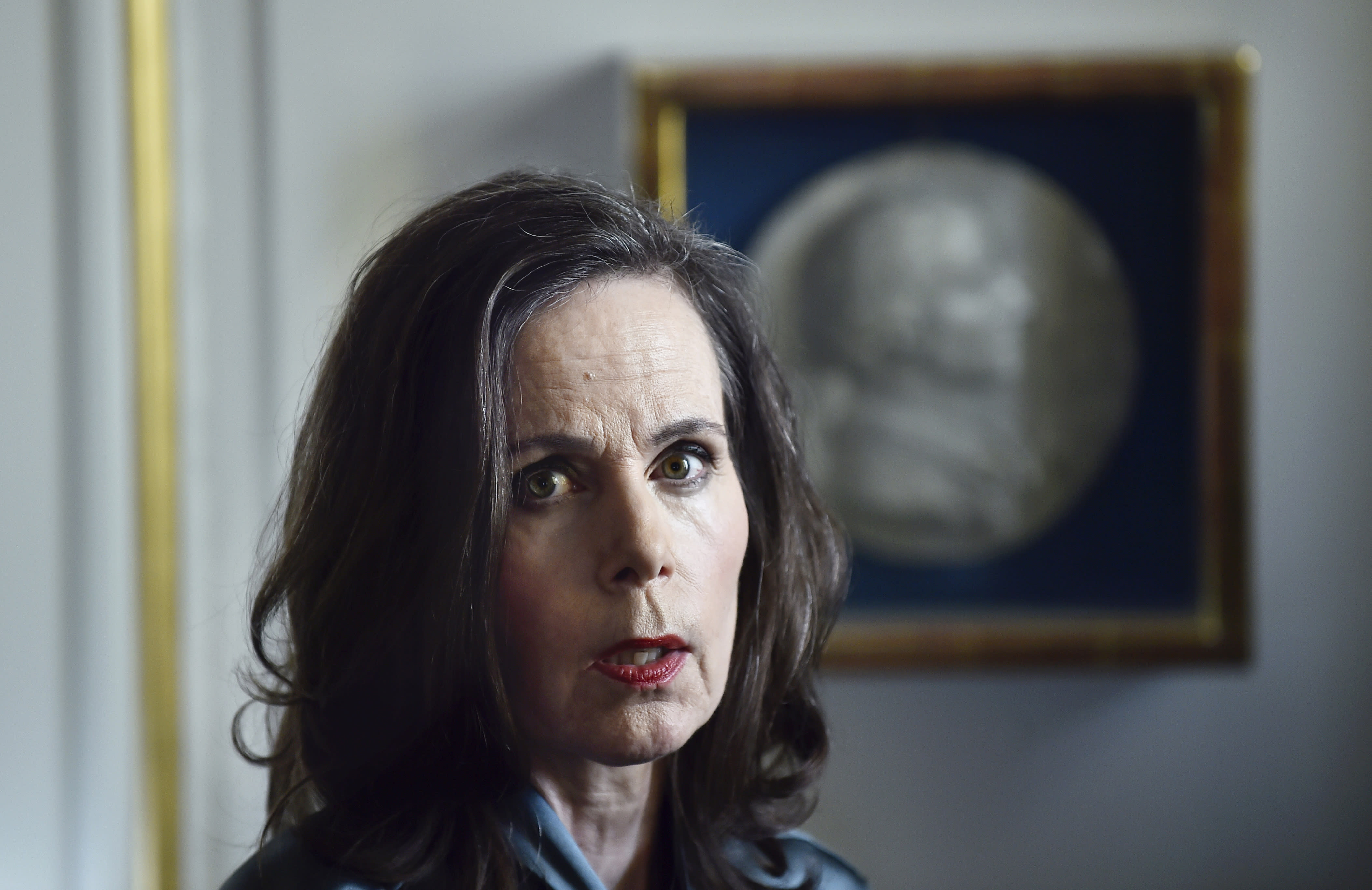 Sara Danius, 57, first female head of Nobel's literature award body