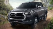 Here are all the variants of the upcoming refreshed Hilux