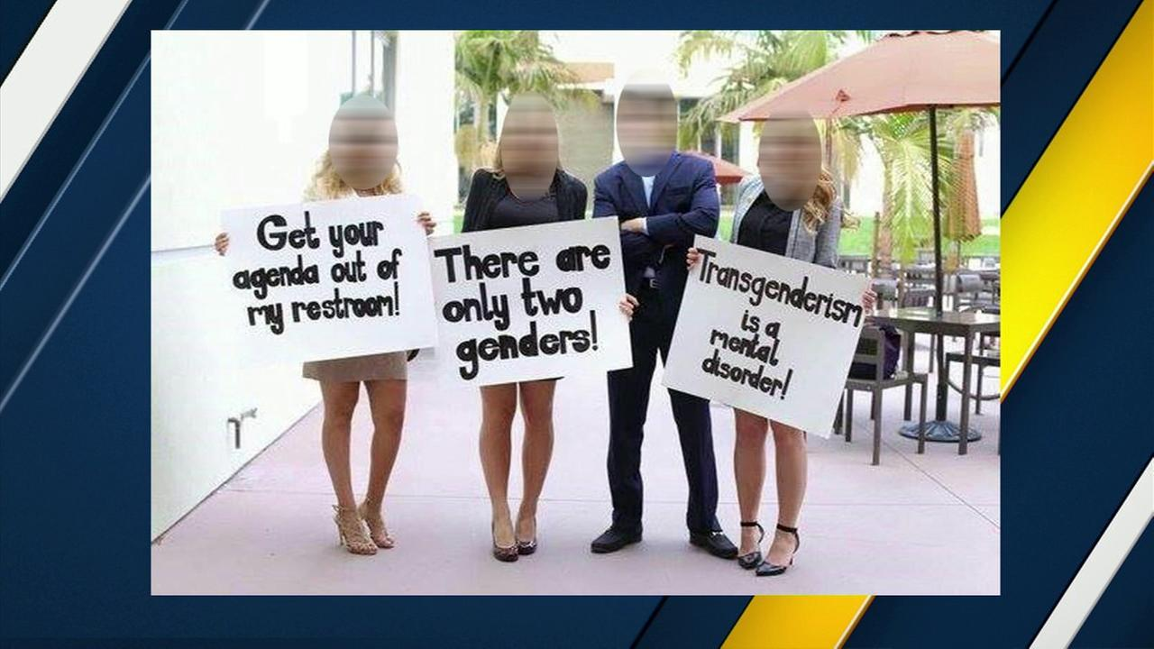 Bathroom Signs Video controversy swirls at ucla over anti-transgender bathroom signs