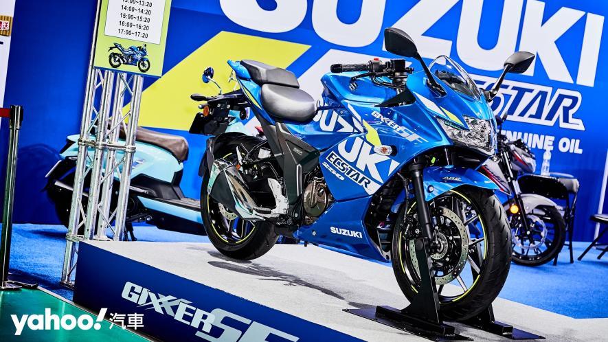再次見面也依舊心動!2021 Suzuki Gixxer 250、SF 250台北重型機車展賞車! - 3