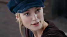 The real reason Keira Knightley wore that cap in 'Love Actually'