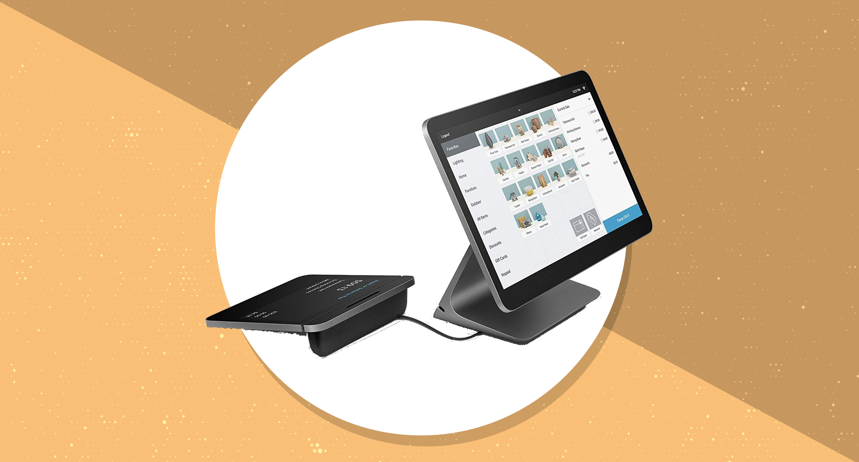 Calling all small business owners! The Square Register is on sale for $160 off at Amazon, today only