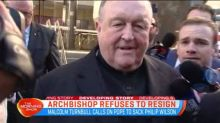 Archbishop refuses to resign