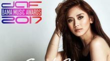 Sarah Geronimo win Best Filipino Act at BAMA
