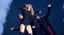 Taylor Swift brings Robbie Williams on stage for surprise 'Angels' duet at Wembley Stadium during Reputation tour