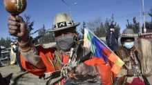 Bolivia's military, police chiefs call for easing of tensions