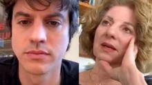 Mãe de Luciano Huck diz que não foi fácil descobrir que irmão do apresentador era gay