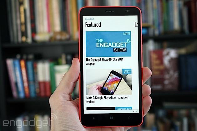 Nokia Lumia 1320 review: an oversized phone that struggles to stand out