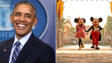 Obama Was Once Escorted Out Of Disneyland For Smoking