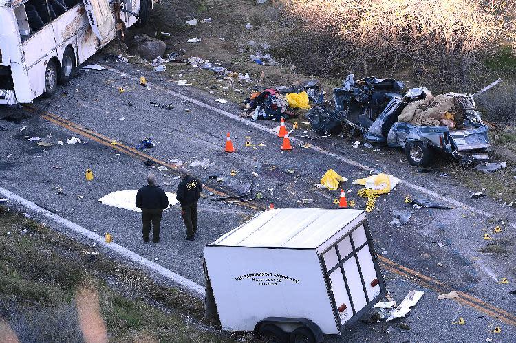 Last of 7 killed in Calif bus crash identified
