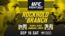 UFC Fight Night 116: Rockhold vs. Branch Gate and Attendance from Pittsburgh