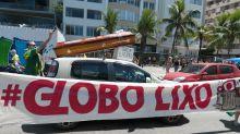 Alvo de Bolsonaro, Globo é atacada nas redes - mas internautas erram usuário