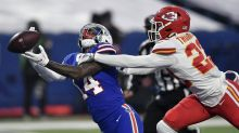 Bills offense gets stuck in the rain, as Chiefs dominate in win