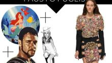 Fashmatics: The Little Mermaid + Gladiator + Nancy Sinatra = Fausto Puglisi Spring 2016