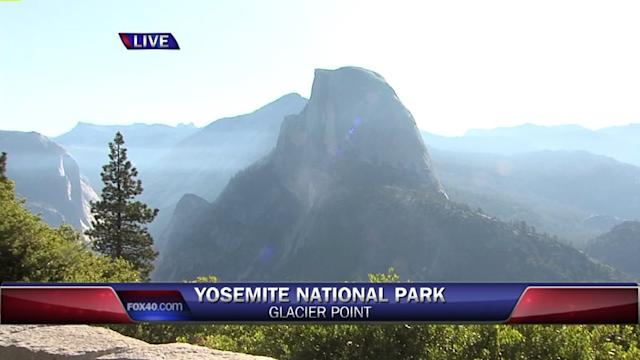 The Most Beautiful View in Yosemite National Park