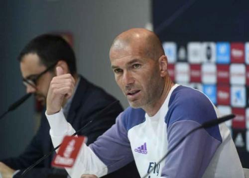 Zidane ignora vantagem do empate e projeta triunfo sobre o Málaga