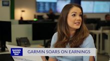 Garmin Soars On Earnings