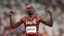 Olympics-Athletics-Kenya's Rotich through to 800m final with fastest time