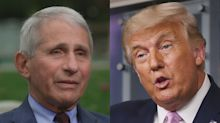 Fauci 'absolutely not' surprised that Trump got COVID-19 at 'super-spreader event'