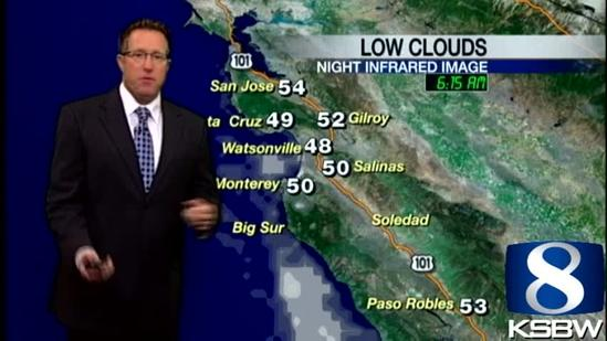 Get Your Tuesday KSBW Weather Forecast 4.30.13