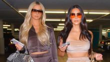 Kim Kardashian and Paris Hilton Bring Back Velour Tracksuits in Skims Campaign