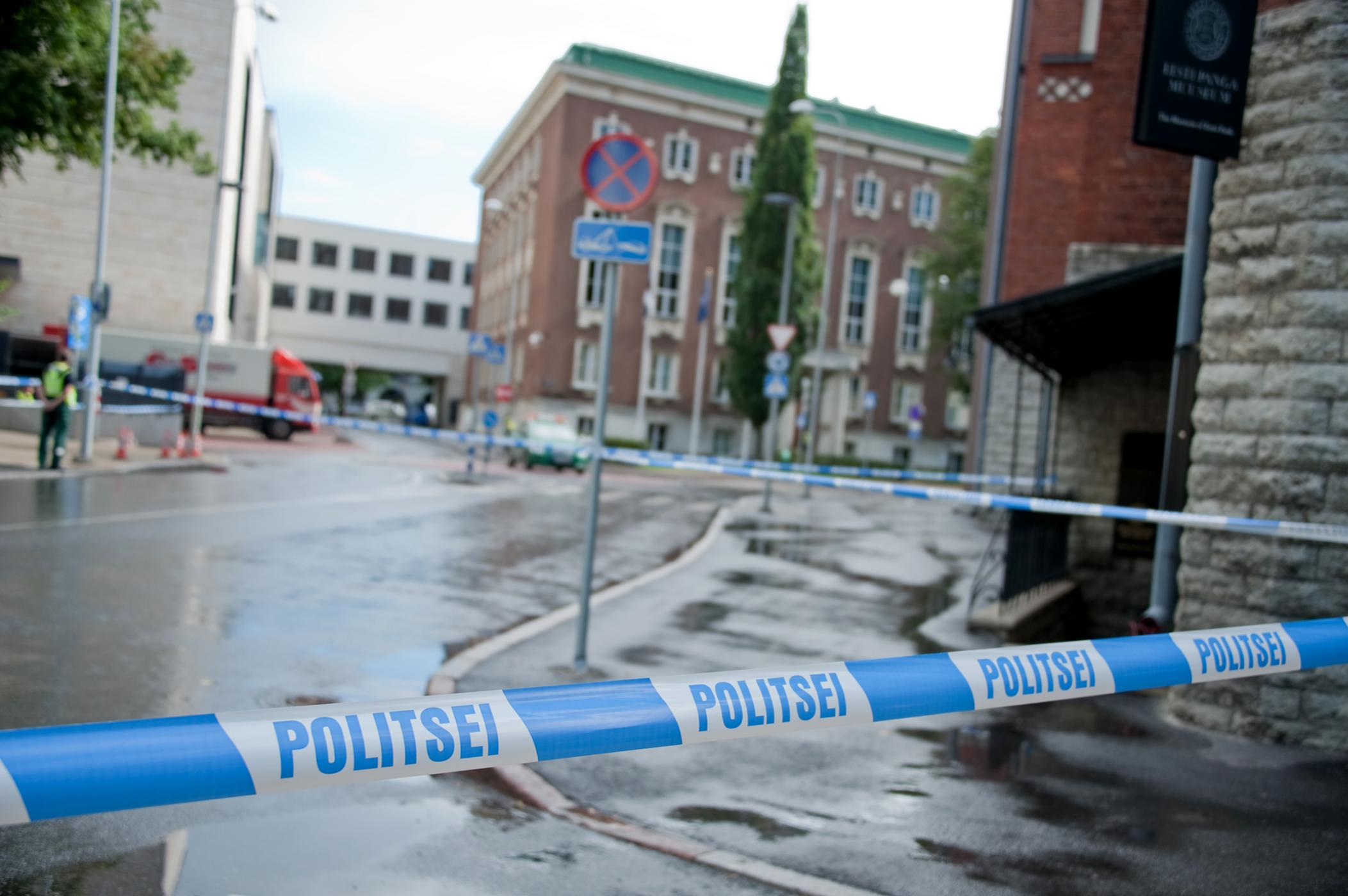 Estonian police say the shooting took place during a German lesson