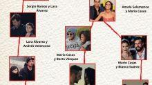 El mapa del amor de los famosos: todos se han liados con todos, pero aquí no pasa nada
