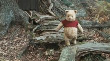 The stars of 'Christopher Robin' are big fans of Winnie-the-Pooh's crop top and no-pants look