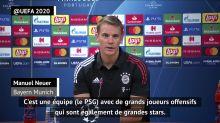 """Finale - Neuer : """"Il pourrait y avoir beaucoup de buts"""""""