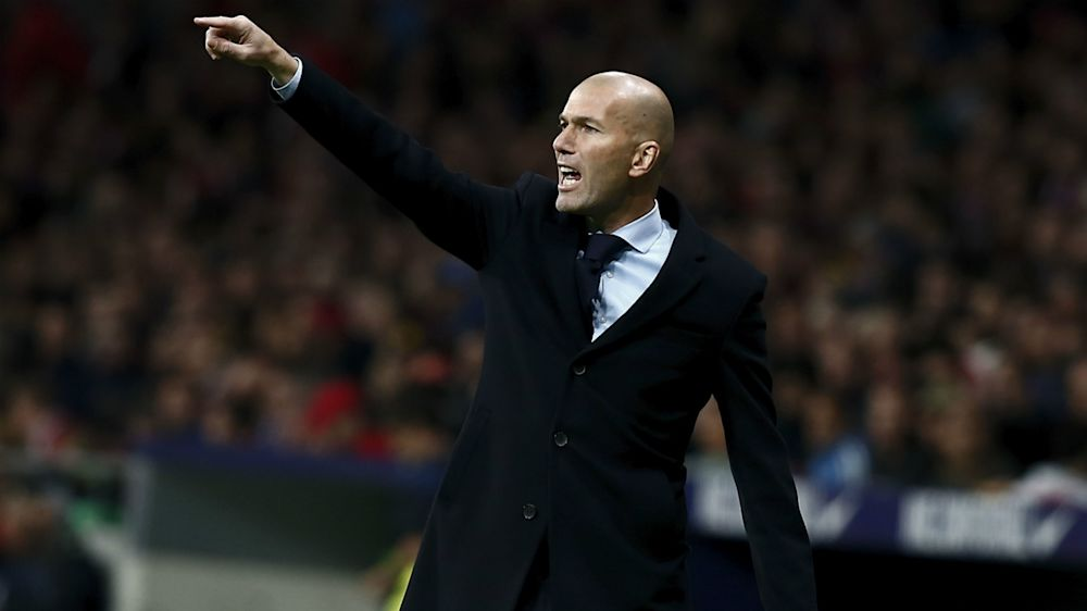 We did everything but score - Zidane unable to explain Madrid loss