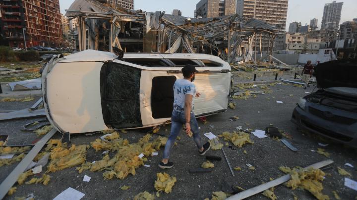 Trump calls deadly Beirut blast a 'terrible attack'