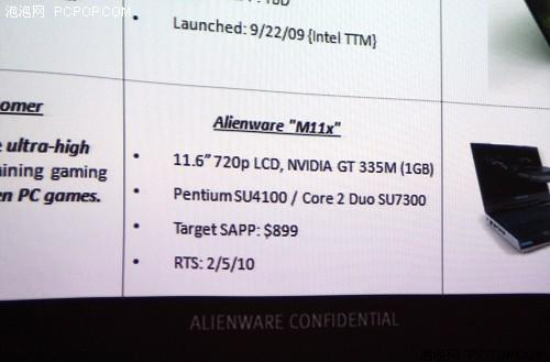 Alienware M11x 'netbook' gets detailed, headed to Japan this month