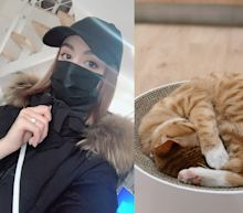 A 21-year-old Canadian woman in Wuhan says she won't evacuate because she can't abandon her cat. Here's what her life is like under lockdown.
