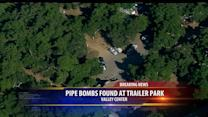 Inert Pipe Bombs Found At Trailer Park