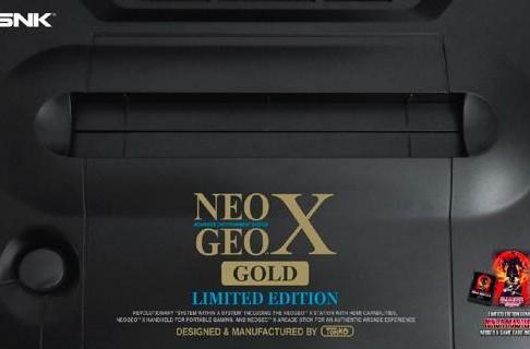 Neo Geo X 'Limited Edition' throws in an additional game