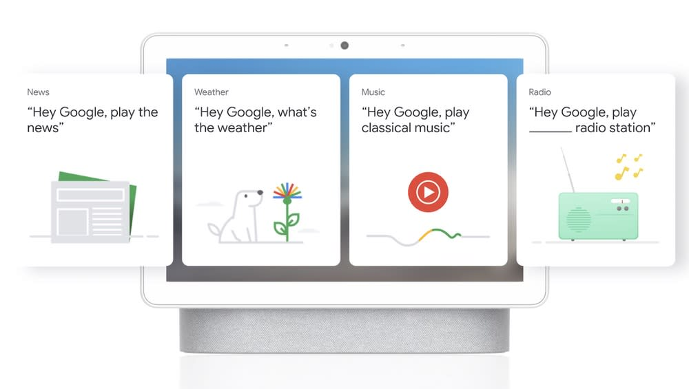 Google is testing a simpler UI for its Nest Hub smart displays