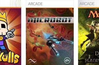 MicroBot, Magic Pack 3 join Raskulls on XBLA today