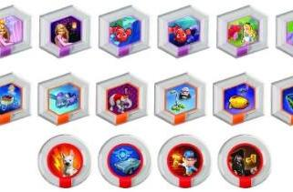 Disney Infinity's first 20 Power Discs come in blind packs of two at launch