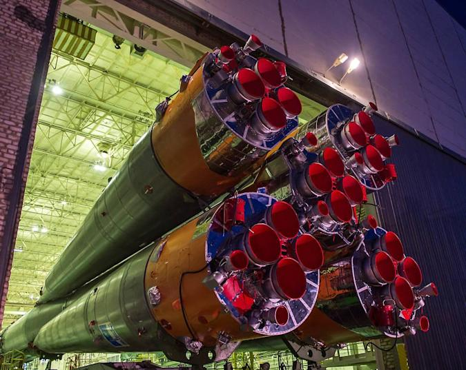 The Big Picture: Russia readies Soyuz rockets ahead of ISS mission
