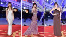Dakota Johnson demonstrates the art of festive party dressing on the red carpet