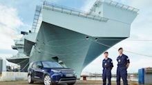 Land Rover challenge: captain of the Navy's new aircraft carrier takes a voyage of Discovery